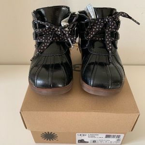 "UGG 8 Toddler ""Payten Stars"" Patent Boots"
